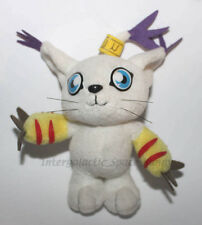 "1999 Bandai Digimon Gatomon 4.5"" Inch Plush Japanese Japan Toy"