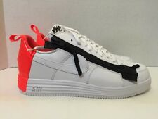 Men's Nike Lunar Force 1 SP / ACRONYM 698699 116 White Bright Crimson Size 8.5