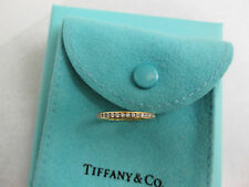 $3,350 Tiffany 18K Gold Diamond Wedding Band Full Eternity Celebration Ring 6
