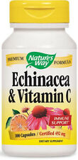 Echinacea & Vitamin C - 100 Capsules - Nature's Way