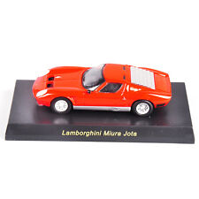 Red 1/64 Scale KYOSHO Lamborghini Miura Jota Diecast Vehicle Car Model Toy
