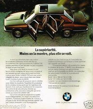 Publicité advertising 1975 BMW 528
