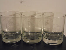 Lof of 3 Richmond Ducks Unlimited Drinking Glasses (2008 Artist of the Year)