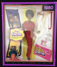 NEW IN BOX 2009 MY FAVORITE BARBIE Mattel 1980 BLACK AFRICAN AMERICAN Doll