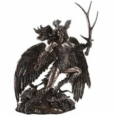 Celtic Mythology Morrigan Battle Crow Goddess of Death Strife Battle 10.75 inch