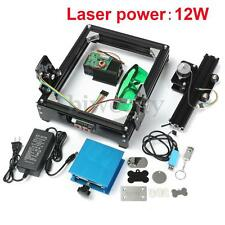 12W USB Desktop CNC Laser Engraving Machine Engraver Cutter For Metal Stone Wood