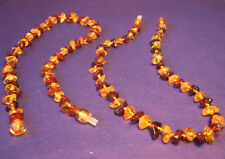 2 pcs Baltic Amber Baby Necklaces Multicolor 10.60 - 11.80 inches