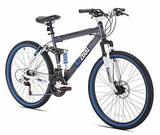"Kent Thruster KZ2600 Dual-Suspension Mountain Bike 26"" 21-speed disk brakes NEW"