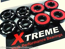 *8 Pack ABEC 9 RED XTREME HIGH PERFORMANCE BEARINGS SKATEBOARD SCOOTER SKATES