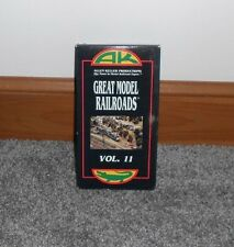 Great Model Railroads, VOL. 11  Allen Keller Productions VHS