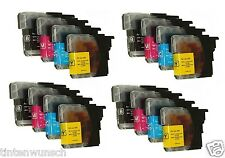 16 Tinta XL para Brother DCP-J315W DCP J125 MFC-j415w se puede elegir color