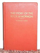 THE STORY OF THE BOOK OF MORMON by Florence Pierce 1952 REVISED VINTAGE RARE HB