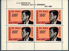 MALI - BF - 1964 - 1° anniversario della morte di J.F. Kennedy