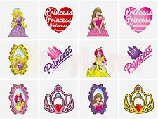 24 x PRINCESS TEMPORARY TATTOO GIRL BIRTHDAY PARTY BAG CHRISTMAS STOCKING FILLER