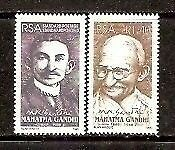South Africa 1995 Mahatma Gandhi of India Joint Issue 2v MNH