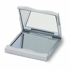 FOLDING MAKE-UP COMPACT MIRROR REGULAR & MAGNIFYING POCKET TRAVEL MENS WOMENS