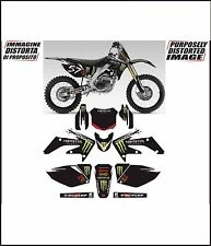 kit adesivi stickers compatibili crf 125 150 250  monster 2004