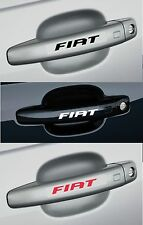 4 x FIAT - Door Handle -  CAR DECAL STICKER ADHESIVE - BRAVO PUNTO - 100mm long