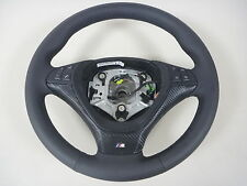 Lenkrad Lederlenkrad Glattes  BMW X5 E70 Steering Wheel mit BLENDE multfunktion
