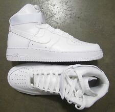 Nike Air Force 1 High White White size 9 (# 315121-115) -RETRO UPTOWN-