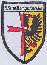 Marine Aufnäher Patch 5. SG - 5. Schnellbootgeschwader ............A2783