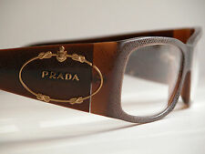 Prada Vintage Eyeglasses - Pre-owned - Gold logo