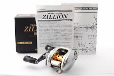 "DAIWA ""ZILLION 100SHL"" 6.3 Left Handed baitcasting reel [Excellent++] From Japan"