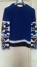 GUCCI HEAVY COTTON HAND WOVEN JUMPER VERY RARE CATWALK ONLY SIZE M/L HARDLY WORN