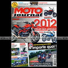 MOTO JOURNAL N°1956 BMW R 1200 RT GUZZI NORGE GT HONDA 800 CROSSRUNNER VFR '11