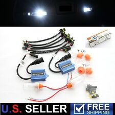 15W Reverse Backup DRL HID AC Digital Xenon Kit 12V 6000K 1156 7440 194 921 912