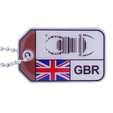 Geocaching bogue Voyage origines UK nouveau design drapeau UK tag traçables
