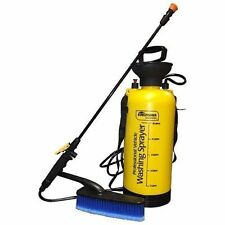 8L Portable Pressure Washer Power Pump Car Jet Wash Brush Hose Lance Cleaner