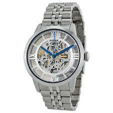 Fossil Townsman Skeleton Dial Stainless Steel Mens Watch ME3044