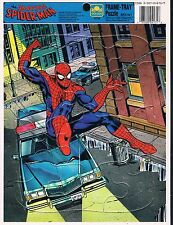 Amazing Spider-Man Golden Frame-Tray Puzzle 1990 Marvel Comics