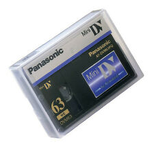 1 Panasonic Pro Mini DV tape for AG-DVC30 DVC20 PVGS12 GS12 GS29 GS320 camcorder