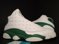 2011 Nike Air Jordan XIII 13 Retro RAY ALLEN CELTICS PROMO WHITE CLOVER GREEN 11