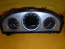 09 Mercedes C-Class 204 Type Speedometer Instrument Cluster Dash Panel E17737