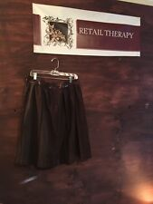 Beautiful Fall Skirt By Dorothee Bis Brown Size 10