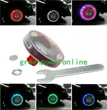 4xSolar LED Car Auto Flash Wheel Tire Valve Caps Neon Light Decoration G1