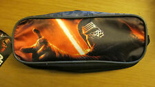 new,Star Wars The Force Awakens,Schlampermappe,Etui,Schule,Stifte,Kylo,Rey