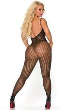COCOLICIOUS CONTROLLED CHAOS BODYSTOCKING - BLACK - ONE SIZE