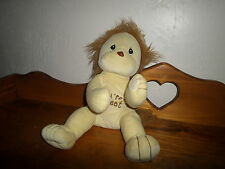 "HTF 15"" Precious Moments YOU'RE GRRREAT Plush Yellow Lion   Tender Tails"