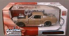 FORD MUSTANG GT 1967 BEIGE PRO RODZ MAISTO 1/24 CUSTOM ROADSTER DIE CAST