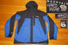 Mountain Hardwear Dry Q Elite HOODED RAIN WIND TAPED SEAMS EXCELLENT XL MEN