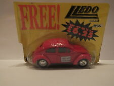 LLEDO VA12 VP12011A VW BEETLE - DIECAST COLLECTOR - RED - STILL IN SEALED PACK #