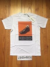 "Kenzo x Toilet Paper ""Cat Got Your Shoe"" Tee shirt White Size Small Tiger Eye"