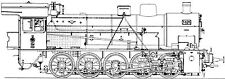 CD mit Musterzeichnugen zum Nachbau einer Lokomotive der Baureihe 57
