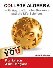 NEW! - College Algebra with Applications for Business and Life Sciences, 2nd ed