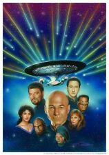 Star Trek The Next Generation - All Good Things Total Cast + Whoopi Goldberg