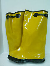 NEW MENS IRONWEAR FITS OVER WORK SAFETY RUBBER BOOTS OVERSHOES SIZE 8